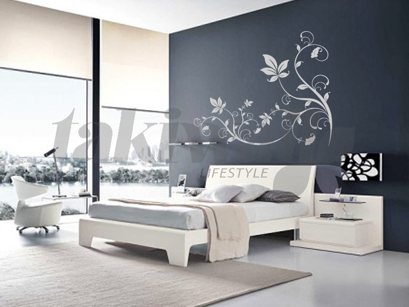 dessin mural chambre adulte ides dco copier pour la with. Black Bedroom Furniture Sets. Home Design Ideas